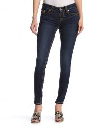 True Religion Denim Mid Rise Super Skinny Jeans
