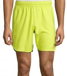 Solid Bright Colorblock Logo Shorts