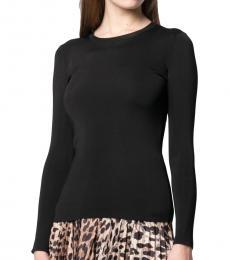 Balenciaga Black Back Logo Sweater