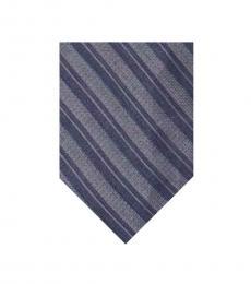 Calvin Klein Purple Striped Tie