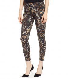 Multi color Farrah High-Rise Ankle Skinny Jeans