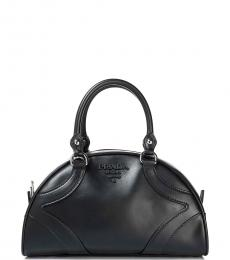 Prada Black Dome Small Satchel