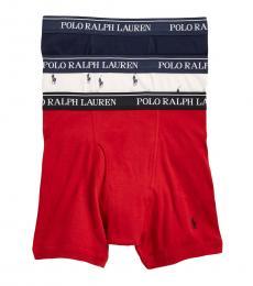 Ralph Lauren Multicolor 3-Pack Classic Trunks