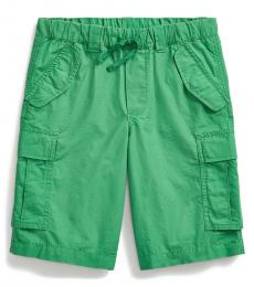 Ralph Lauren Boys Lifeboat Green Ripstop Cargo Short