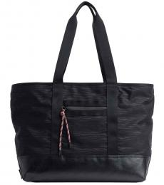 Black Downtown Large Tote