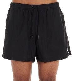 Marcelo Burlon Black Logo Swim Shorts
