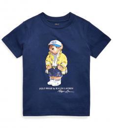 Little Boys Newport Navy CP-93 Bear T-Shirt
