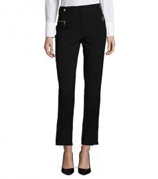 Calvin Klein Black Slim-Fit Cropped Pants