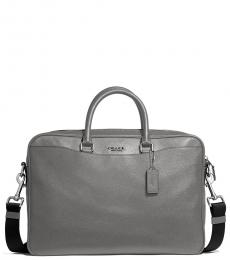 Coach Heather Grey Beckett Slim Large Briefcase Bag