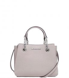 Michael Kors Pearl Grey Teagen Mini Satchel
