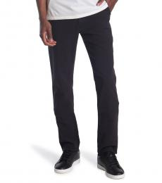 AG Adriano Goldschmied Black Marshall Chino Pants