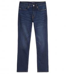 Calvin Klein Boys Austin Dark Blue Skinny Jeans
