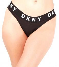 DKNY Black Boyfriend Bikini Underwear