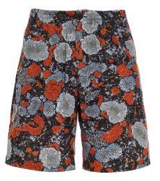 McQ Alexander McQueen Multicolor Lichen Printed Shorts