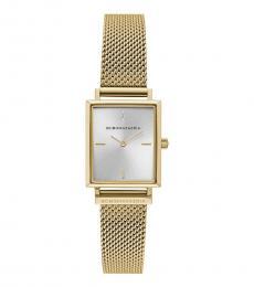 BCBGMaxazria Golden Mesh Bracelet Watch
