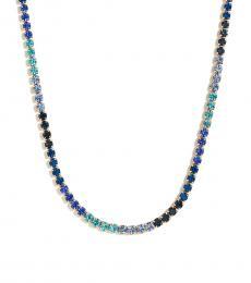 Blue Crystal Ombre Neckpiece