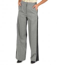 Grey Side Stripe Pants