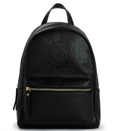 Black Chain Large Backpack