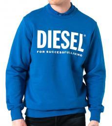 Diesel Blue Gir-Division Sweatshirt