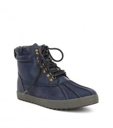Ralph Lauren Midnight Regnald Duck Toe Boots