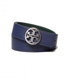 Tory Burch Royal Navy Reversible Belt