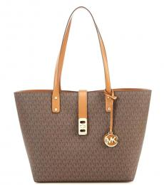 Brown Karson Medium Tote