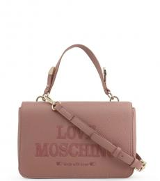 Love Moschino Pink Top Handle Small Crossbody