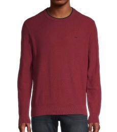 Michael Kors Cherry Logo Knit Pullover