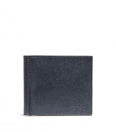 Coach Denim Money Clip Billfold Wallet