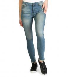 Armani Exchange Blue Slim Fit Jeans