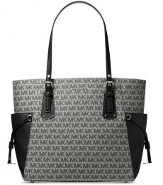 Michael Kors Graphite Voyager East West Large Tote