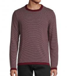 Michael Kors Cherry Striped Cotton Sweater