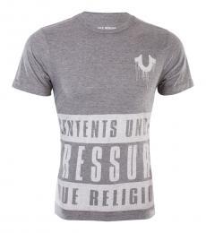 Grey Contents Under Pressure Tshirt