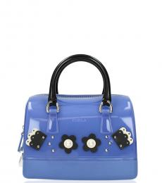 Blue Candy Cupido Small Satchel