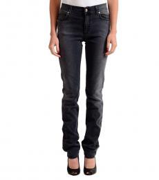 Versace Jeans Grey Straight Leg Jeans