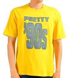 Hugo Boss Yellow Crewneck T-Shirt