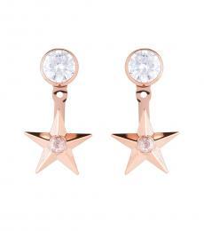 Michael Kors Rose Gold Celestial Earrings