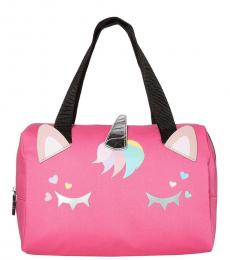 Betsey Johnson Pink Insulated Unicorn Lunch Small Tote