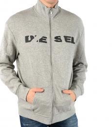 Diesel Grey S-Brave-Bro Sweatshirt