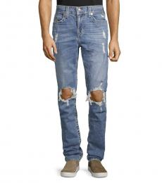 Blue Rocco Distressed Jeans