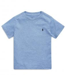 Ralph Lauren Little Boys Colbat Heather Crewneck T-Shirt