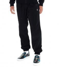 Black Cross Jogging Pants