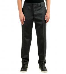 Dark Grey Casual Pants