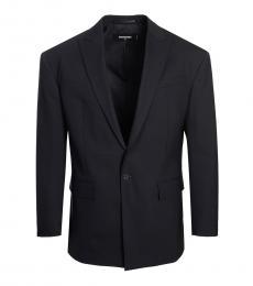 Dsquared2 Black Tailored Fit Blazer