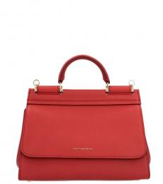 Red Sicily Small Satchel