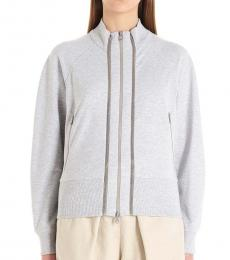 Brunello Cucinelli Grey Zipper Jackets