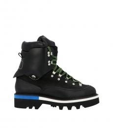 Black Massive Hiking Boots