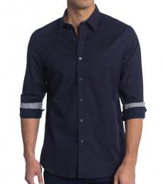 Midnight Scatter Print Classic Fit Shirt