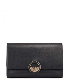 Versace Collection Black Logo Medium Crossbody