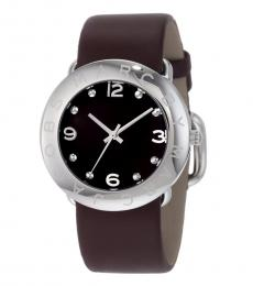 Brown-Silver Amy Watch